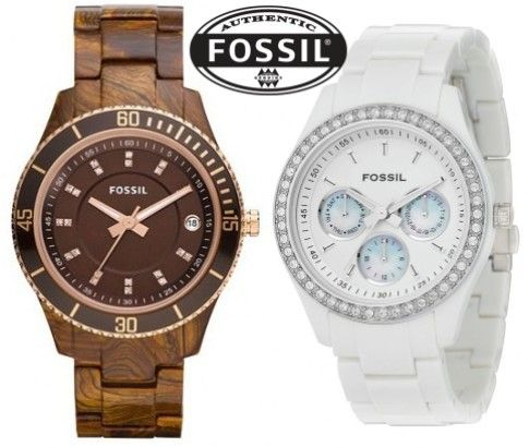 Fossil Ladies Watches – Choice of 2 Stylish and Trusted Designs  - Select today from a choice of 2 uber-stylish watches for ladies - Just $99 at #IKoala
