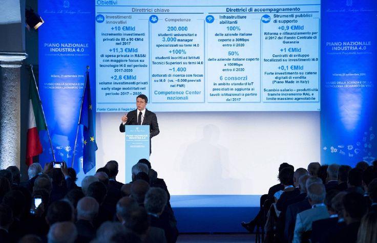 Presentato il Piano nazionale Industria 4.0