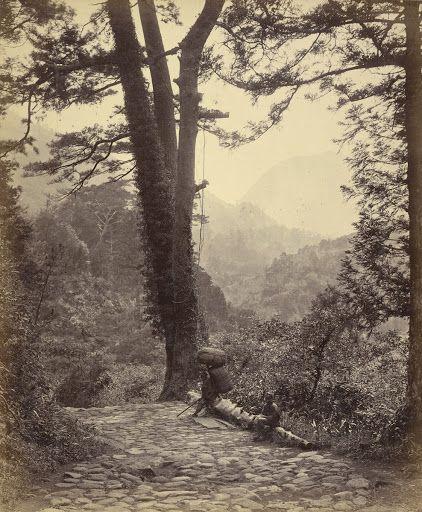 1863-1868 - View Of The Hakone Pass