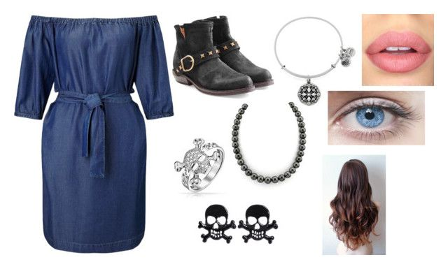 """the pirate's daughter #22"" by cupcakes-i ❤ liked on Polyvore featuring Fiorentini + Baker, Bling Jewelry, Alex and Ani, Sephora Collection and Miss Selfridge"