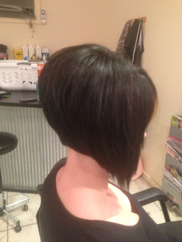 Classic Concave Bob My Hair Styles Concave Bob