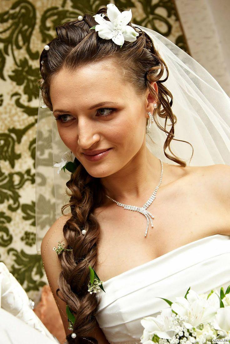 Коса рыбий хвост - свадебная прическа braid