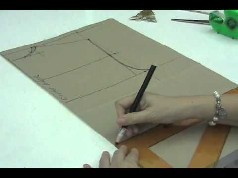 Lesson 2-15 MEDIUM Front Bodice Part 1b - PATTERN MAKING OF A BASIC DRESS WITH WAISTLINE - YouTube