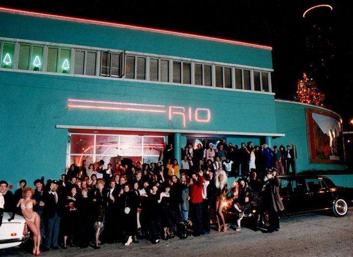Club Rio Photo: Flournoy Holmes- saw Blacklight Chameleons ...
