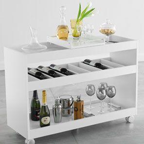 Tray Table com rodinhas
