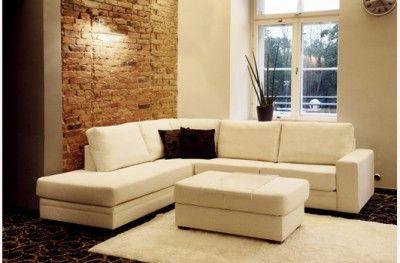 Casino sofa couch bellus white modulsofa www.helsetmobler.no