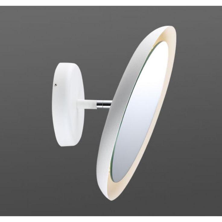 Ballingslöv vit sminkspegel med belysning