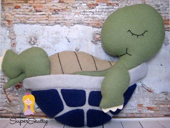 Almofada tartaruga: