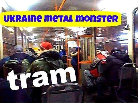 Украина Киев ►Поездка на трамвае. A trip to Kiev tram