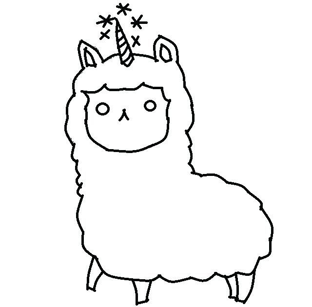 Llama Coloring Pages Unicorn Coloring Pages Valentines Day Coloring Page Cute Coloring Pages