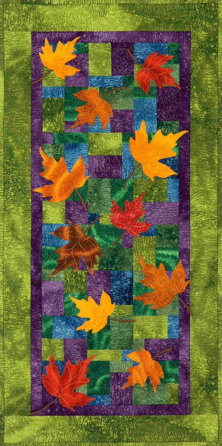 Plum Tree Quilts: Falling Leaves