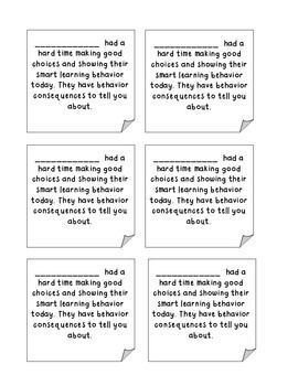 Printable+Bad+Behavior+Notes+to+Parents