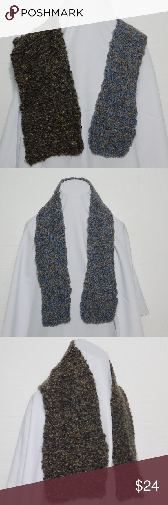Offers of 40% Less on BUNDLES Always Accepted! TWO for the price of one! BOTH scarves come together in this one listing! Unisex, Men, Women and Kids but listed as Men. Scarf, multiple wrap around styles.    Knit, soft, stretchy, machine washable. ADD to a BUNDLE! Offers of 40% Less on BUNDLES Always Accepted! Accessories Scarves