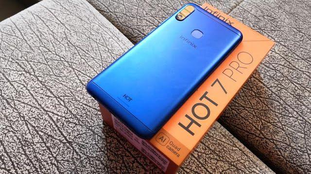 هاتف أنفنيكس Hot 7 Pro للبيع على الأنترنيت في المغرب Infinix Phones 7 Pro Phone