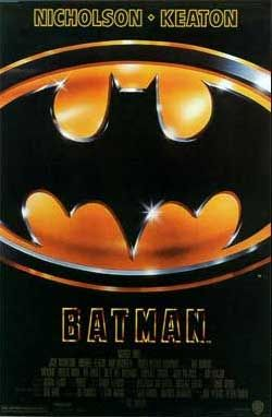 Batman (1989) - The Dark Knight of Gotham City begins his war on crime with his first major enemy being the clownishly homicidal Joker.--> one of the first comic book movies to make comic book movies cool.