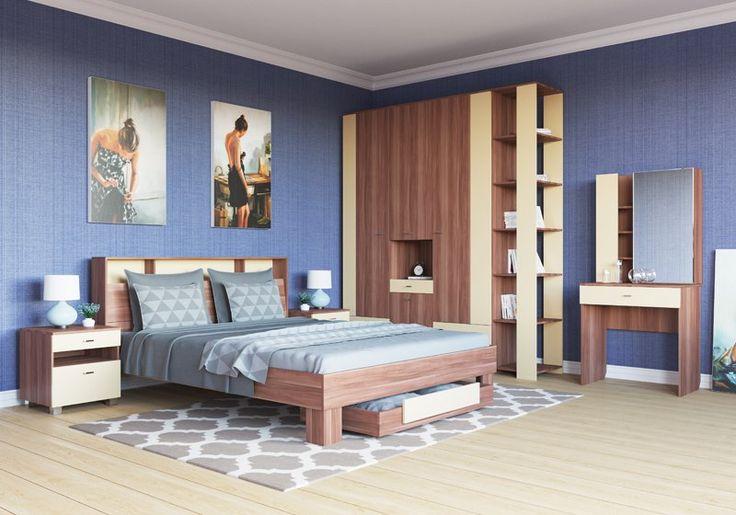 Спальные гарнитуры по ценам от 8490 рублей