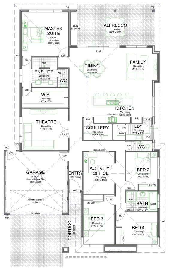 Some of you may like this floor plan with the scullery/laundry/kitchen layout. I like it that's for sure! I have a similar…