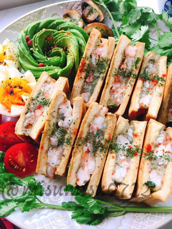 misuzu's dish photo カレー高野豆腐のタイ風海老トースト | http://snapdish.co #SnapDish #レシピ #再現料理…