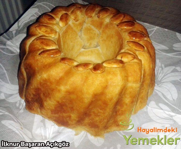 Muhallebili Islak Kek Pastası   Resimli Yemek Tarifleri Hayalimdeki Yemekler