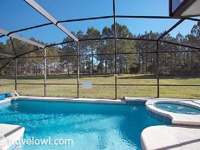 Pool & spa @ Highlands Reserve Orlando