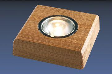 LED Lampa för konstglas i ett lite mer exklusivt material att använda och dekorera med sitt konstglas på ett dekorativt vis.