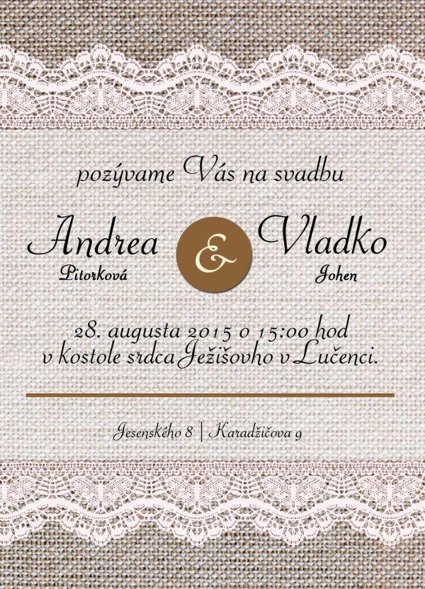 Svadobné oznámenie NO14- online moderné svadobné oznámenie