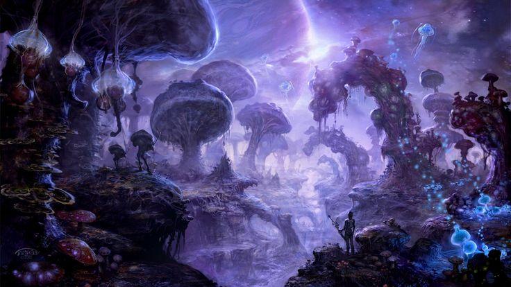 Fantasy Landscapes   Fantasy Landscape Wallpaper ...