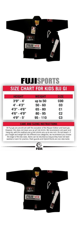 Jackets 179771: Fuji Kid S Bjj Uniform Black Size C0 Boys Martial Arts Uniform Jacket, New -> BUY IT NOW ONLY: $76.77 on eBay!