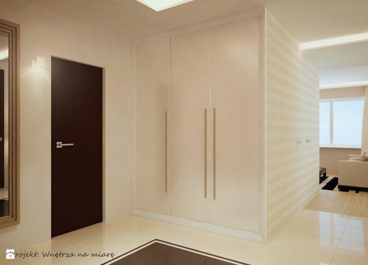 Mieszkanie na Wilanowie - Holl - zdjęcie od Wnętrza na miarę - Hol / Przedpokój - Styl Klasyczny - Wnętrza na miarę