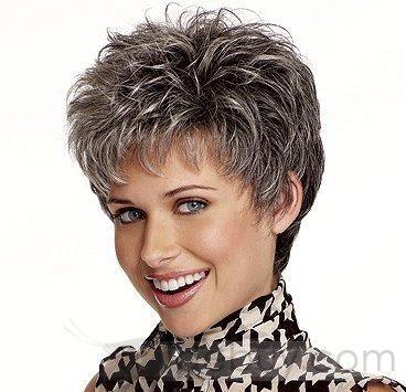 short grey silver cuts   Short Grey Hair Women