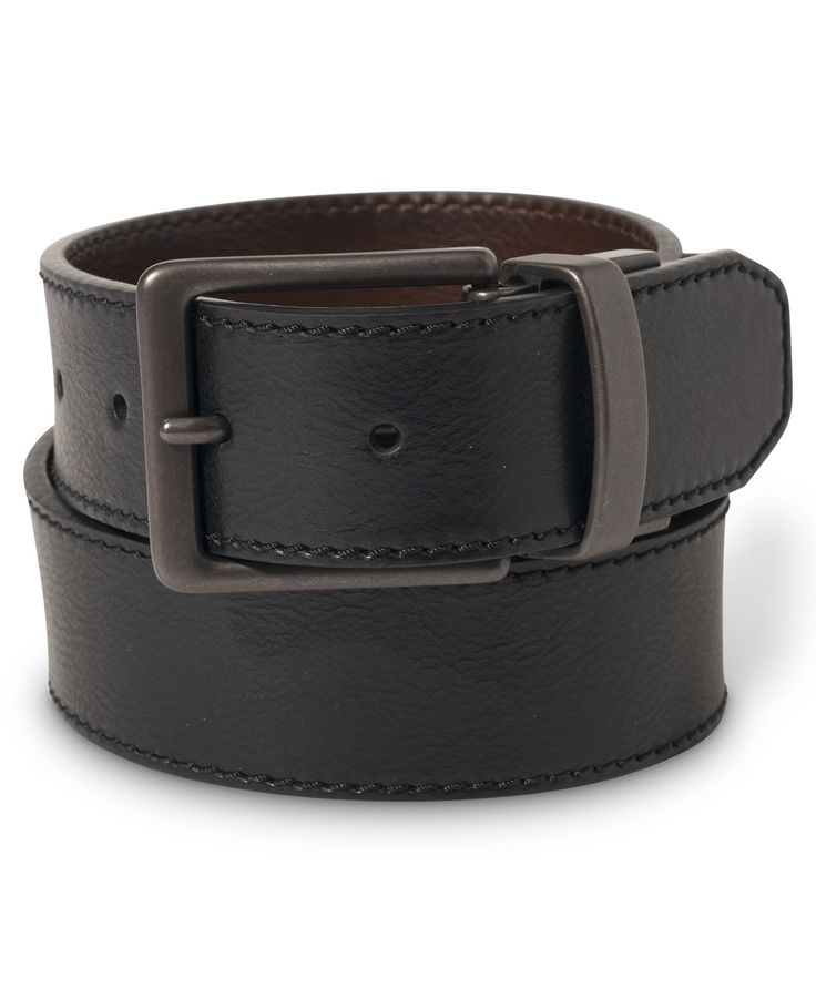 Levi's Reversible Stitched Leather Belt - Belts & Suspenders - Men - Macy's