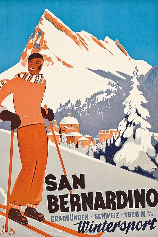Christie's 'The Ski Sale': Record prices for vintage ski posters | Classic Driver Magazine