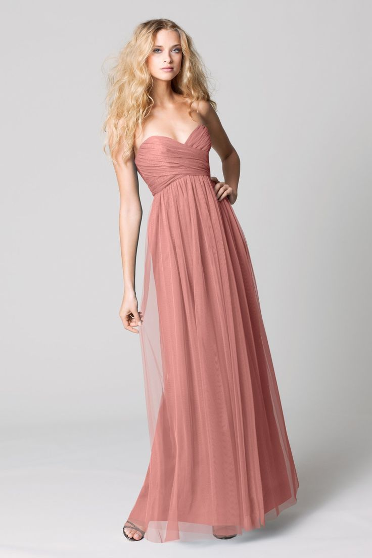 I actually wore this dress at my cousin's wedding this year. It looked great on all of her bridesmaids!