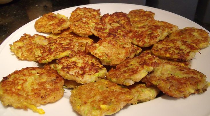 Pan Fried Zucchini Cakes