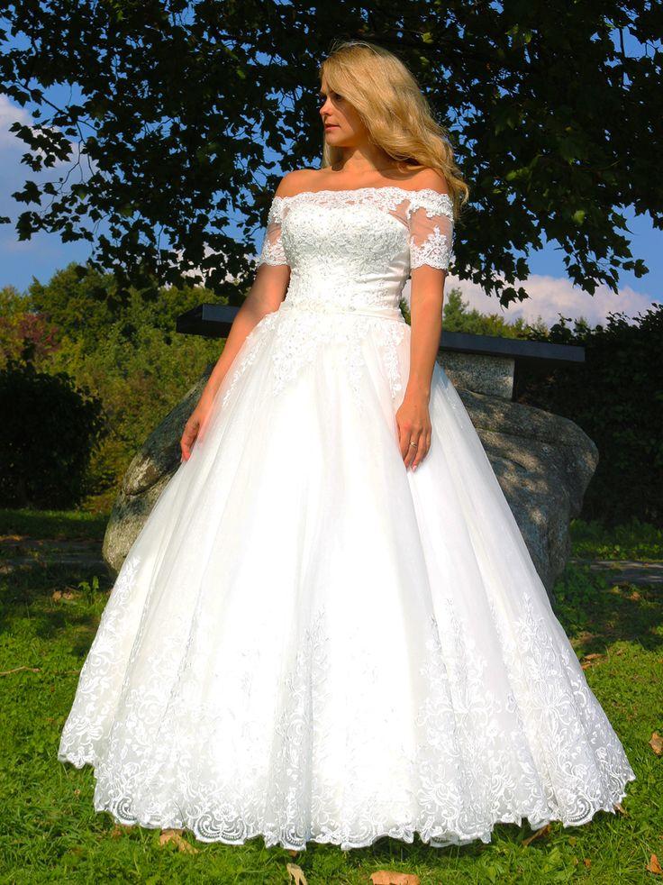 Luxus Brautkleid Hochzeitskleid NEU Braut Spitze Brautkleider Maß