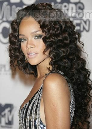 The 25 best brazilian weave hairstyles ideas on pinterest new arrival top quality rihanna hairstyle curly brazilian weave 100human hair about 22inches pmusecretfo Image collections