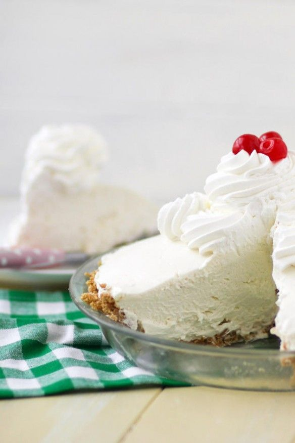 Key Lime Icebox Cheesecake -- so light and creamy!! Love this recipe.