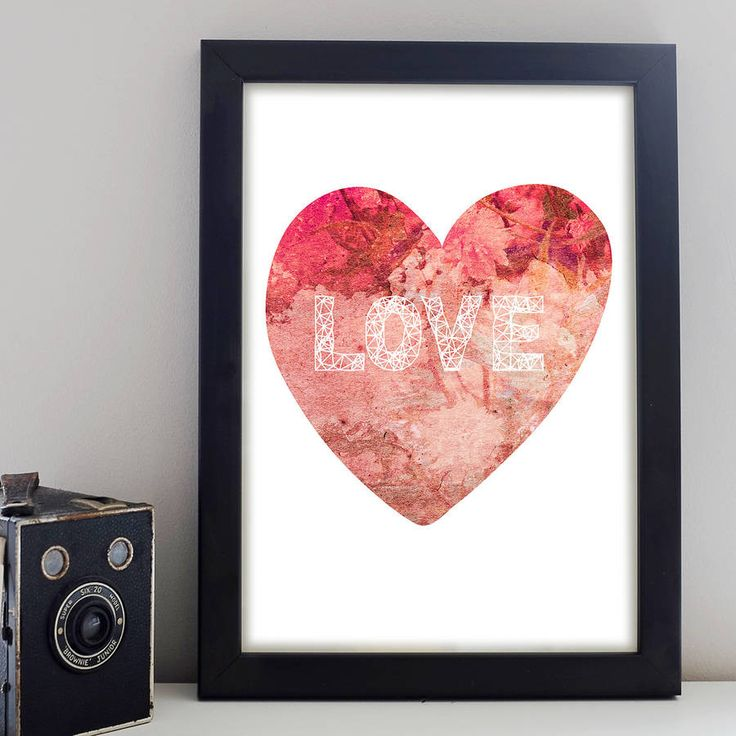 Sweetheart Love Print – Little Pieces