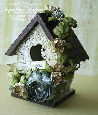 Ideas for my birdhouse... beautiful!