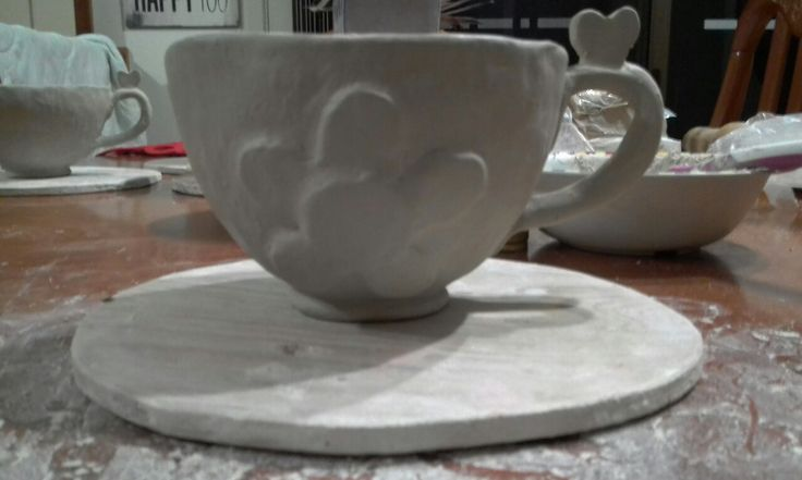 first teacup finished