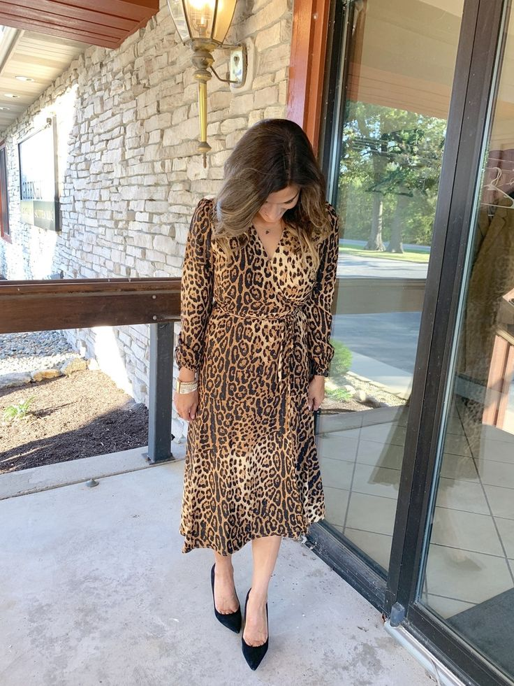 How to wear a leopard print dress #justpostedblog #ShopStyle #shopthelook #MySh…