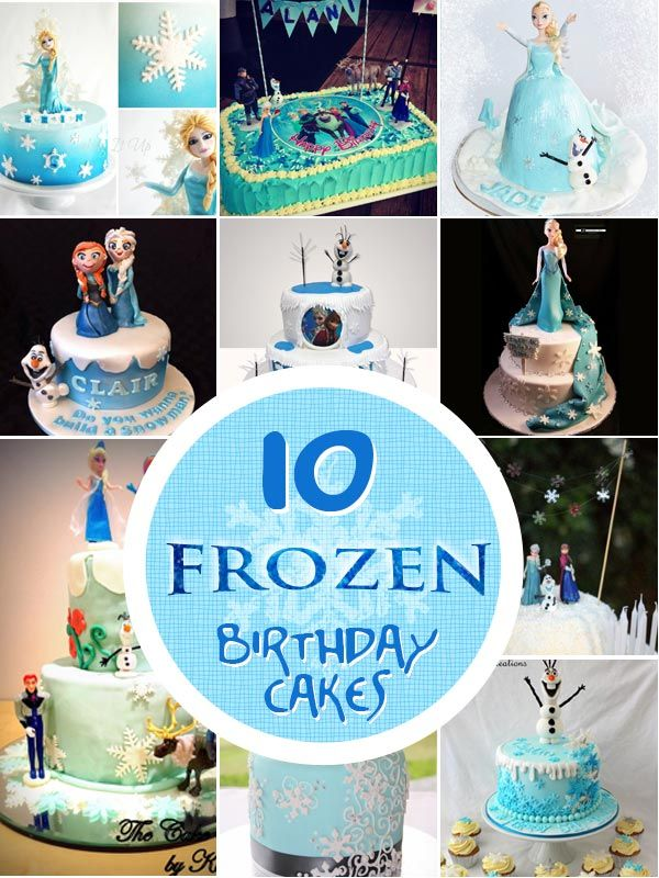 Our top ten favourite Frozen Cakes from in and around Australia. Be inspired to create your cake masterpiece or purchase from 1 of the featured bakers.