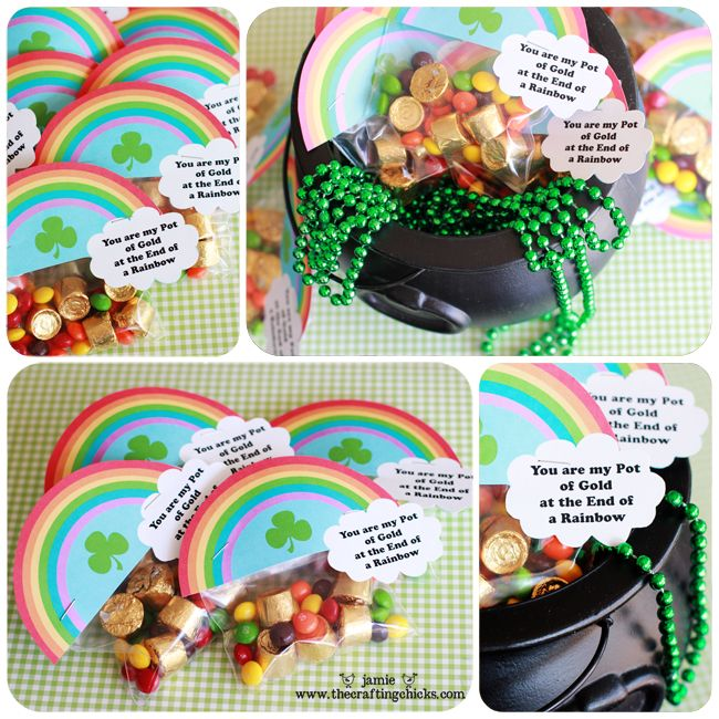 St. Patrick's day treasure hunt: Treats Bags, St. Patties, Lucky Treasure, Cute Ideas, St. Patrick'S Day, Treats Toppers, Treasure Hunt'S, Scavenger Hunt'S, Free Printable