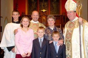 The Longenecker Family at Fr Dwight's Ordination