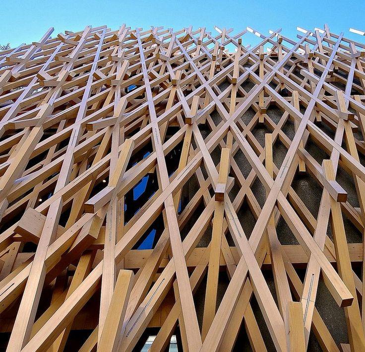 sunnhills aoyama kengo kuma #architettura #legno #giappone