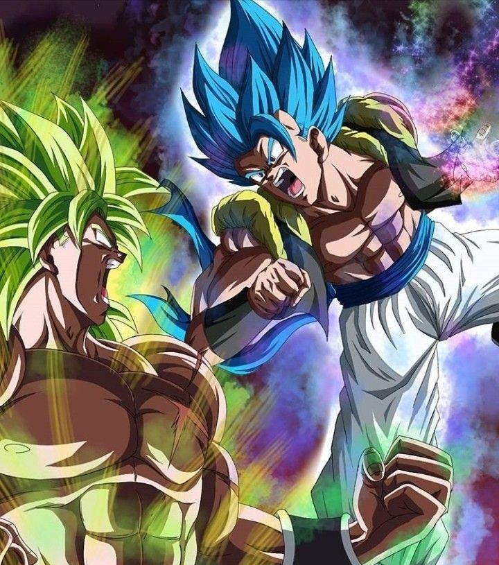 Gogeta vs Broly Anime dragon ball super, Dragon ball