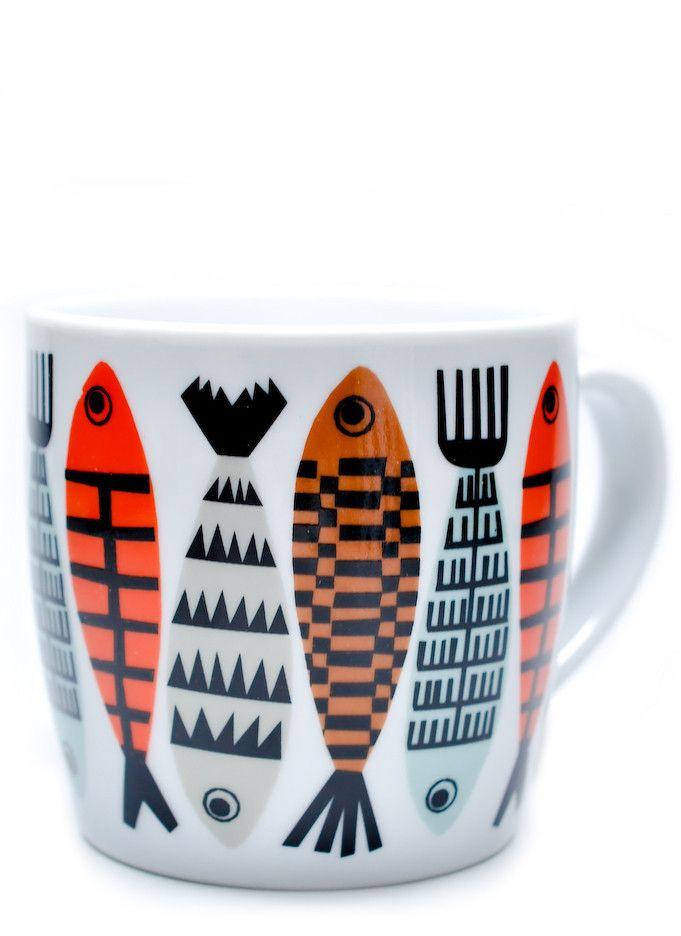 Fiske Mug