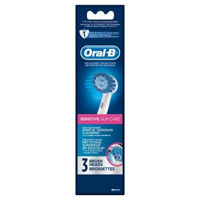 Oral-B Sensitive Replacement Electric Toothbrush Head - 3ct