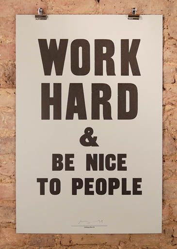 anthony burrill at nelly duff, columbia, london