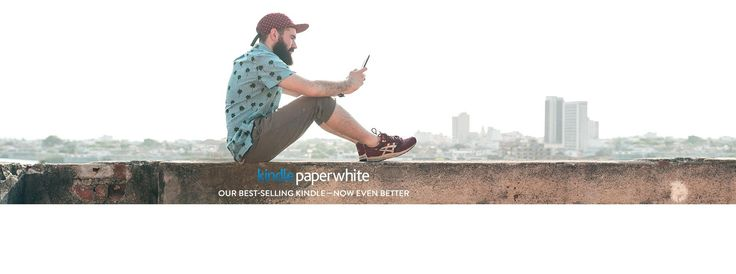 """Kindle Paperwhite E-reader - Black, 6"""" High-Resolution Display (300 ppi) with Built-in Light, Free 3G + Wi-Fi"""